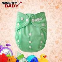 China Naughty baby Washable PUL Plain color baby Cloth Diapers, baby cloth nappy on sale