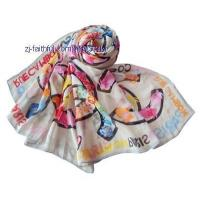 China SK-S3501-3printing silk scarves wholesale