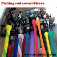 China colorful fishing rod covers/sleeves wholesale