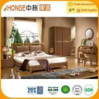 6A006 solid teak wood cheap bedroom furniture set