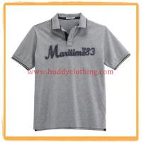 China Embroidered Pique Polo Shirt 11004 wholesale