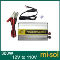 China US socket 300W Power inverter DC 12V to AC Adapter car charger laptop USB power supply wholesale
