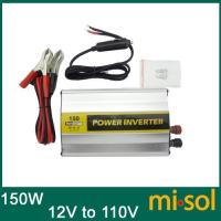 US socket 150W Power inverter DC 12V to AC Adapter car charger laptop USB power supply