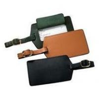 Bags Genuine Leather Luggage Tag Manufactures