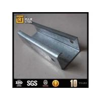 China Galvanized C beam steel C channel wholesale