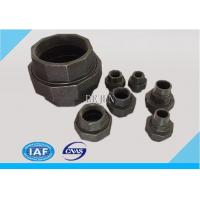 BLACK iron pipe fittings union Manufactures