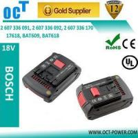 China Bosch battery 18v 3ah replacement battery for bosch 2 607 336 091 on sale