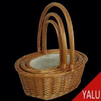 China wicker product gift basket WB-5181D on sale