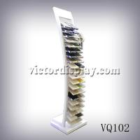 Quality Tower Display For Quartz Stone Samples VQ102 Manufactures