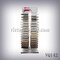 VQ142 Two Rows Stone Display Rack for Quartz surface Manufactures