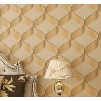 pvc wallpaper new fashion 3D wallpaper/vinyl wallpaper Manufactures