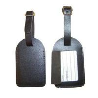 Genuine Leather Luggage tag(Luggage tag, , luggage label) Manufactures