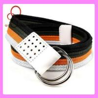 China double d ring custom web mexican belt wholesale