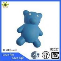 Wholesale Pet toy hollow rubber bear toy