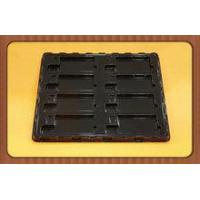 Black PVC blister packaging for electronic accessories,plastic customized blister packaging