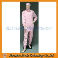 China STD Anti-static crotch Zip Hooded Jumpsuit Welcome to order wholesale