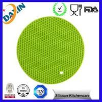 heat resistant /silicone mat/ non-slip silicone pot holder mat Manufactures