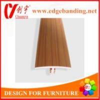 Buy cheap Flexible T profile pvc edge banding office Furniture edge banding from wholesalers