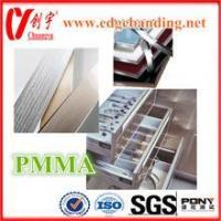 Buy cheap PMMA edge banding for acrylic furniture lipping from wholesalers