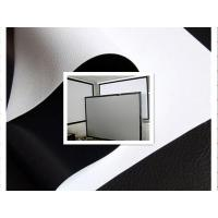 China 300D white projector screen fabric wholesale