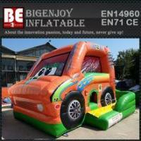 China car inflatable combo bouncer slide bouncer wholesale