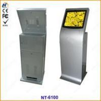 Floor standing customized touch screen kiosk equipment Manufactures