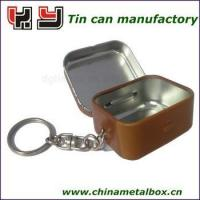 keychain tin box for sale Manufactures
