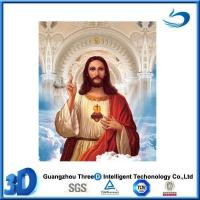 China Custom Design 3D Lenticular Picture Religion Flip Effect For Wall Art wholesale