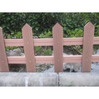 China outdoor wpc fence like real wood wholesale