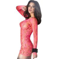 China Red hollow out sexy babydolls for womenC346536A US$3.95 wholesale