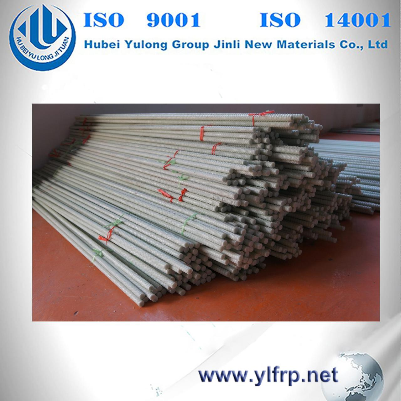 China FRP Threaded re-bar wholesale