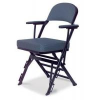 Clarin Manual Uplift Seat Folding Chair with Arm Rests, Upholstered Back and Seat Manufactures