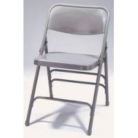China Folding Chairs Premium All-Steel Triple Brace Folding Chair wholesale