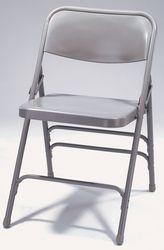 Quality Folding Chairs Premium All-Steel Triple Brace Folding Chair for sale