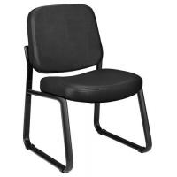 """Stack Chairs OFM Vinyl Upholstered Guest/Reception Chair with 3"""" Padded Seat Manufactures"""
