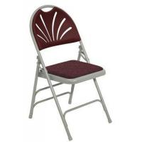 China Folding Chairs Fan Back Padded Folding Chair wholesale