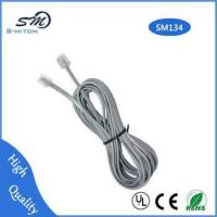 China High quality phone cable rj11 corded telephone 6p4c telephone cable on sale