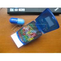 China Automatic popup note box paper clips The exhibition presents wholesale
