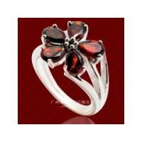 China 2014 China Supplier Fashion Best Price 925 Sterling Silver Jewelry Ring With Red Agate Wholesale wholesale