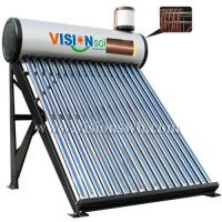 Buy cheap Copper coil pre-heat solar water heater VCS-5818CG from wholesalers