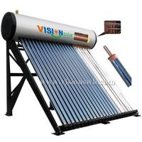 Buy cheap Copper coil pre-heat heat pipe solar water heater VCS-5818CGH from wholesalers