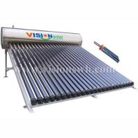 Buy cheap Heat pipe pressure solar water heater VHS-5818SA from wholesalers