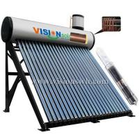 Buy cheap Super heat tube re-heat solar water heater VCS-5818CGS from wholesalers
