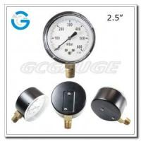 China Capsule low pressure gauges 2.5 inch dial with bottom connection wholesale