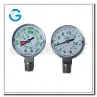 Buy cheap Medical system pressure gauges with high and low pressure from wholesalers