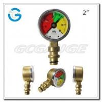 "2"" One-piece forged brass case mining pressure gauges Manufactures"