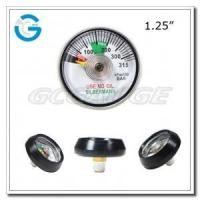 "1.25"" Spiral tube medical oxygen pressure gauges Manufactures"