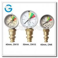 """China 2"""" Stainless steel bottom connection mining pressure gauges wholesale"""