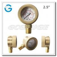 "2.5"" All brass case watertight subsea gauges Manufactures"