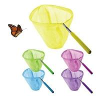China extendable butterfly net/telescopic butterfly net/fishing net/garden butterfly net wholesale